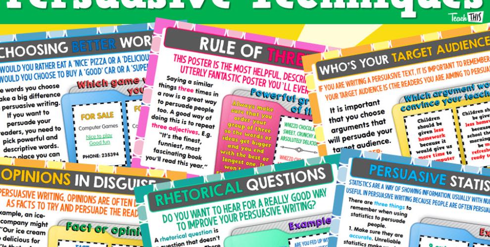 Persuasive Techniques in Writing